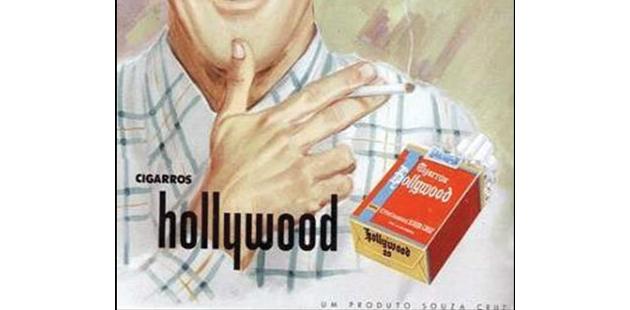 Publicidade antiga do Hollywood sem filtro - Imagem: Reprodução.