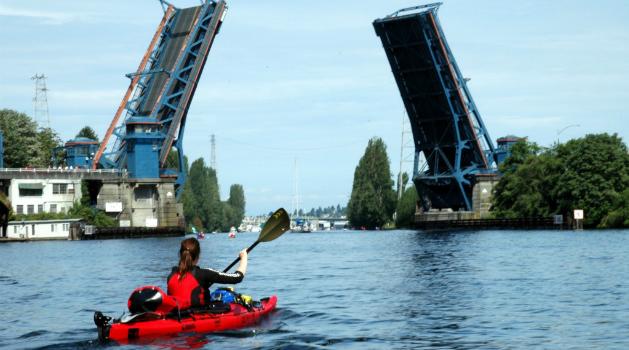 De volta a Seattle no dia 15/09/2006, que se transformou no Dia de Renata Chlumska por decreto do prefeito - Foto: Arquivo pessoal.
