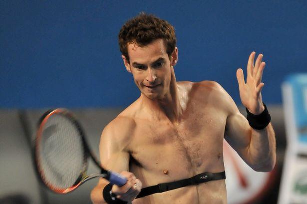 Andy Murray parece não se descuidar do monitoramento cardíaco - Foto: Reprodução.