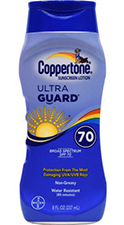 Coopertone Ultraguard 70 - Não saio de casa sem ele - Foto: Divulgação.