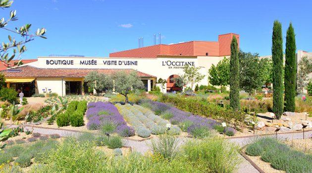 Fábrica da L'Occitane em Manosque, França - Foto: Divulgação.