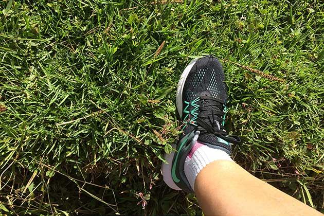 Primeiro treino com os novos Nike Zoom Winflo 3 na Mantiqueira - Sou muito fã da Nike - Foto: Amandina Morbeck.